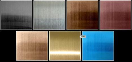 彩色镀钛不锈钢板